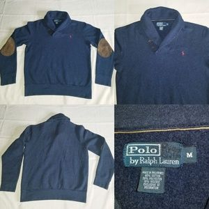Polo Ralph Lauren Shawl Collar Pullover Sweater M